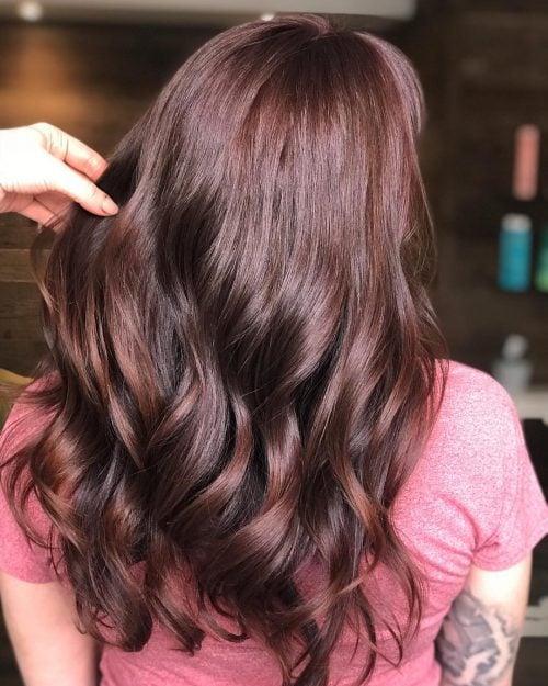 Dark Brown Hair Light Brown Ombre