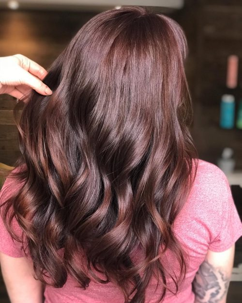 Highlights For Dark Hair Summer 2018 81 Best Auburn Hair Color Ideas In 2018 For Brown Red