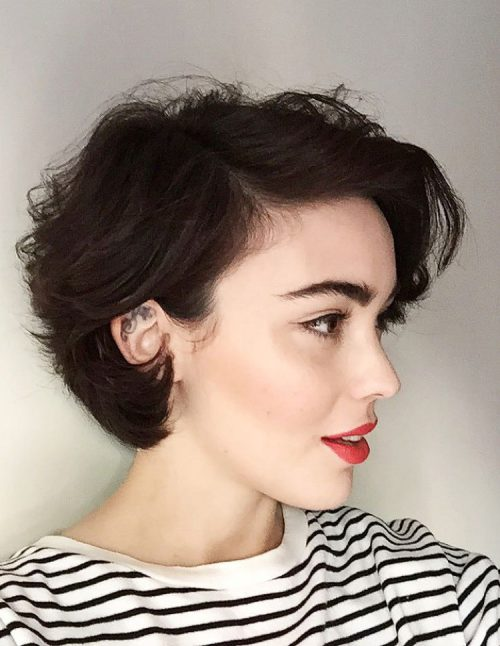 Image Result For Short Hairstyles With Layers And Bangs