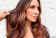 hottest dark auburn hair color