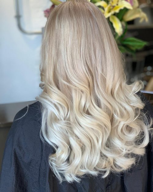 Balayage Light Brown Hair