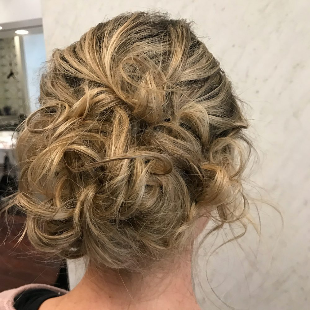 The Sexiest Messy Updos Youll See All Day