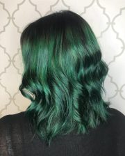 amazing examples of green hair