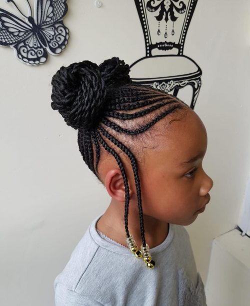 Hairstyles For 9 Year Olds Black Girl : hairstyles, black, Hairstyles, Black, Trending