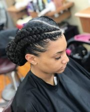 glam goddess braids