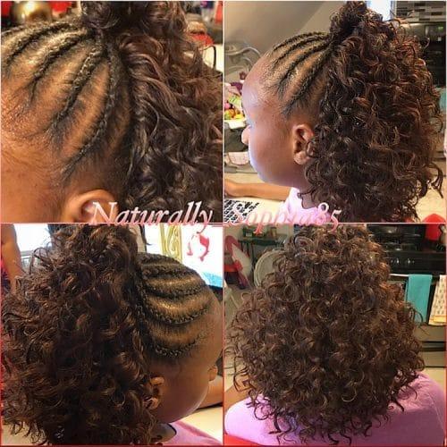20 Cute Hairstyles For Black Kids Trending In 2020