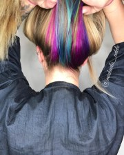 colorful rainbow hair ideas