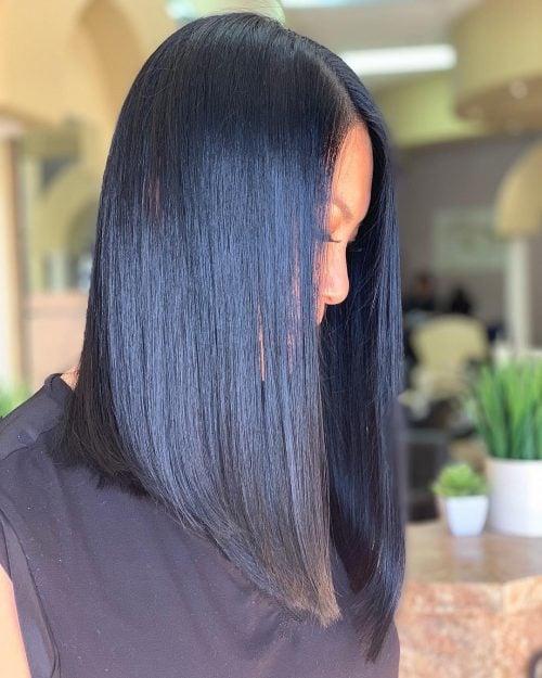 Blue Highlights Light Brown Hair