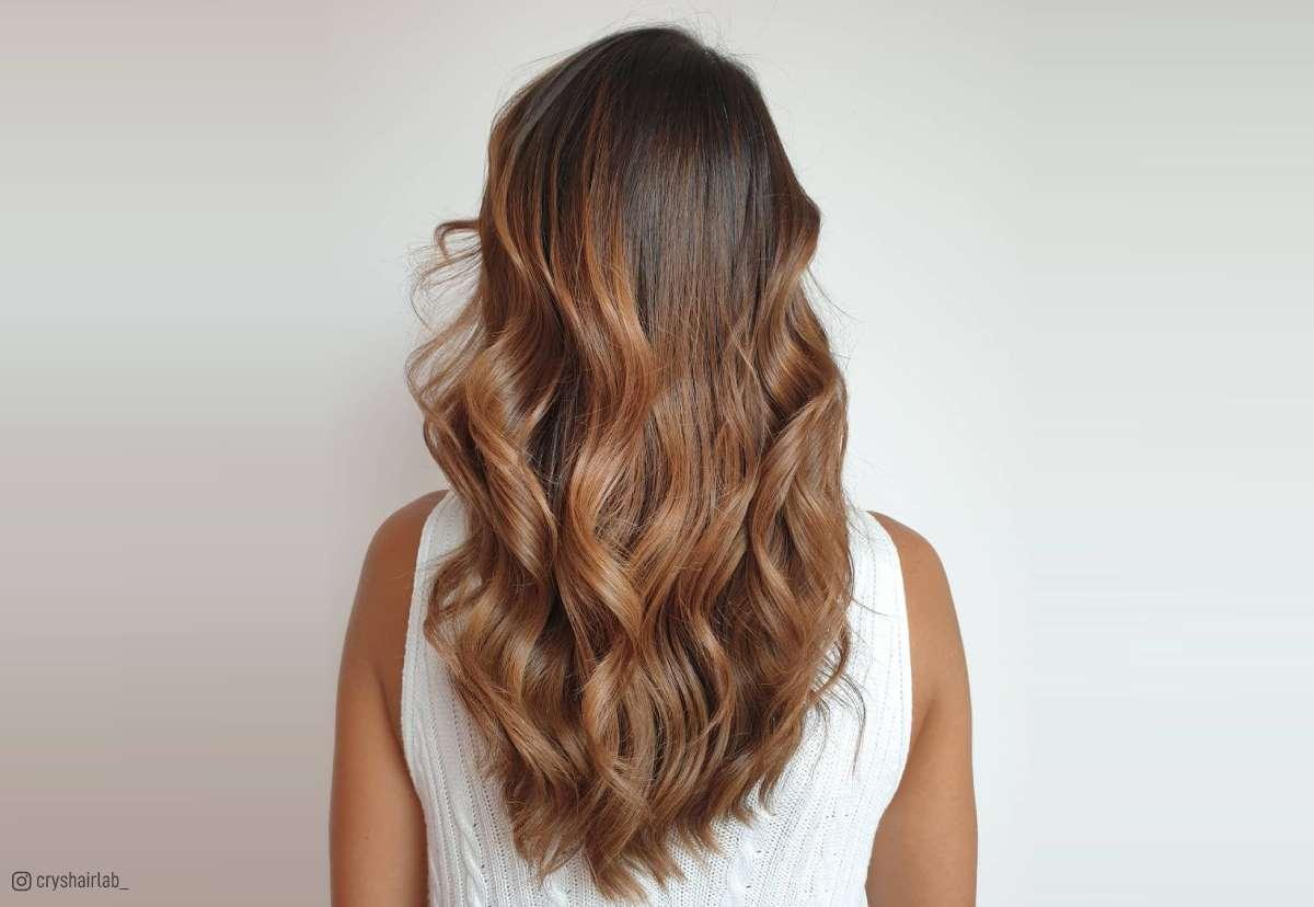 36 light brown hair