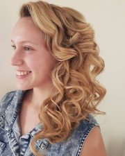 side hairstyles prom gorgeous