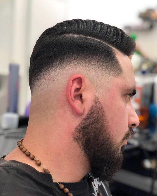 Military Medium Fade : military, medium, Haircuts