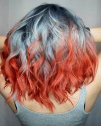 Multi Colored Hairstyles Pictures