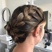 prettiest prom updos long