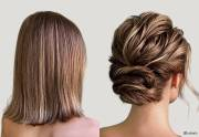 #1 prom hairstyle short hair