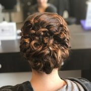 easy & cute updos curly