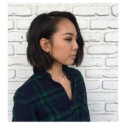 cutest chin-length hairstyles