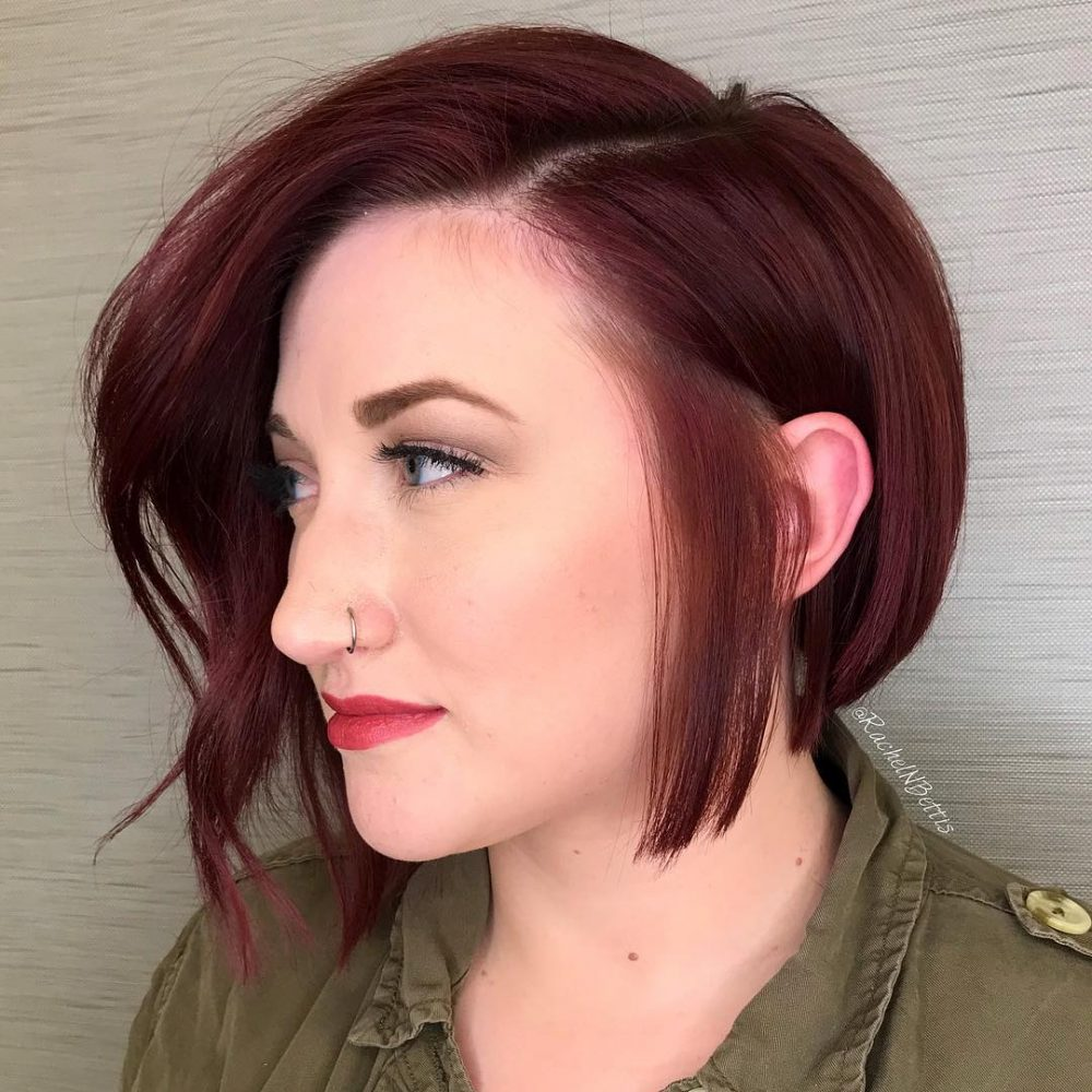 39 Perfect Short Hairstyles For Round Faces In 2018