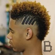 freshest haircuts black