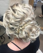 curly updos hair