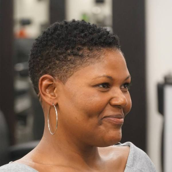 Tapered Natural Hairstyles Black Women Hair