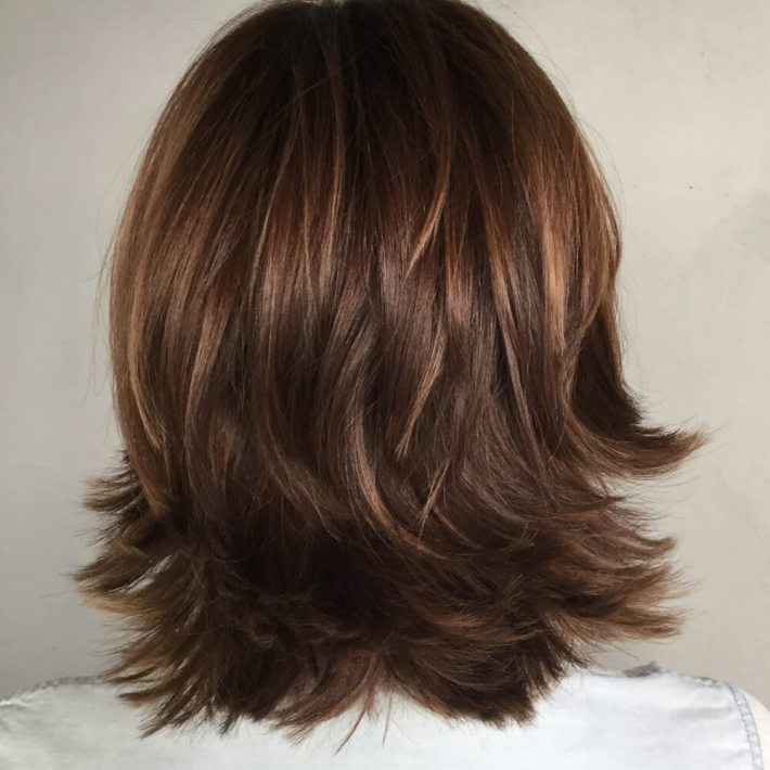 51 stunning medium length layered haircuts & hairstyles for 2019