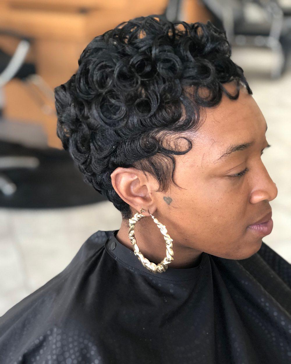 56 Popular Short Hairstyles for Black Women in 2018