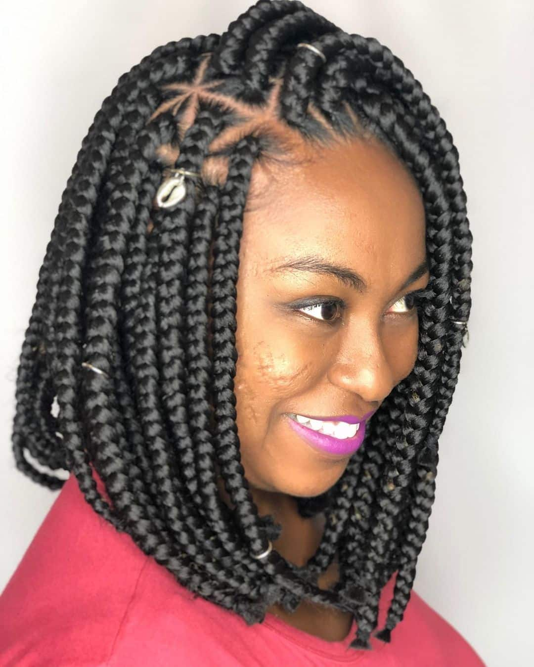 Box Braids No Edges : braids, edges, Hottest, Triangle, Braids, You've, Gotta