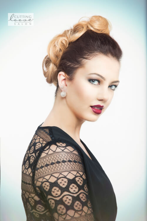 42 pin up hairstyles