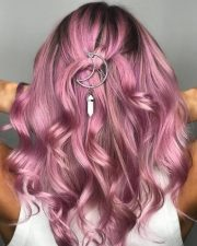 pink hair color ideas trending
