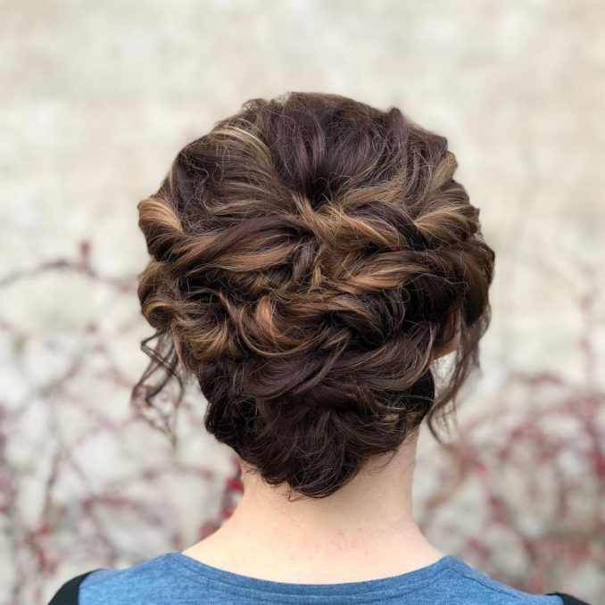 20 simple updos that are super cute & easy (2019 trends)