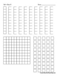 Base 10 Blocks Pre-K - 4th Grade Printables & Template ...