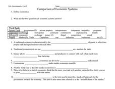 types of economic systems lesson plan by comparison chart answers also my blog about may rh askusp