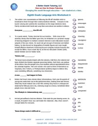 All Worksheets  Ela Worksheets - Printable Worksheets ...