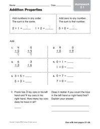 Properties Of Addition Worksheet Grade 6 - 1000 images ...