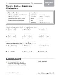 Patterning And Algebra Grade 7 Worksheets - number ...
