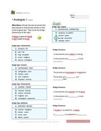 Printables. Analogy Worksheets 8th Grade. Beyoncenetworth ...