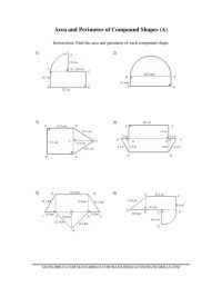 Area And Perimeter Of Composite Figures Worksheet Free ...