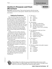 Text Structure Worksheets 5th Grade. Worksheets ...