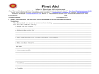Boy Scout Camping Merit Badge Worksheet Photos