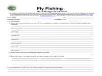 Printables. Fishing Merit Badge Worksheet. Mywcct