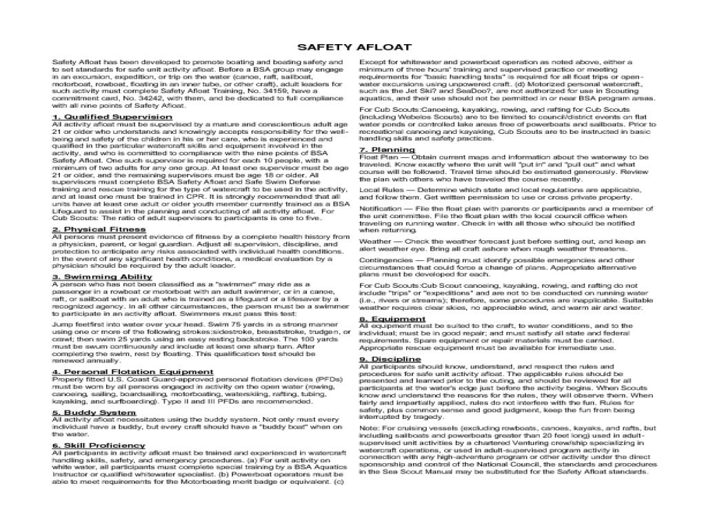 Boy Scouts Of America Merit Badge Worksheets