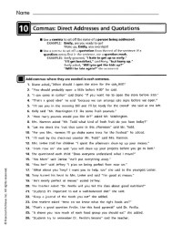 All Worksheets  Comma Practice Worksheets - Printable ...