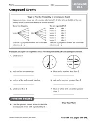 Compound Probability Worksheets Free Worksheets Library ...