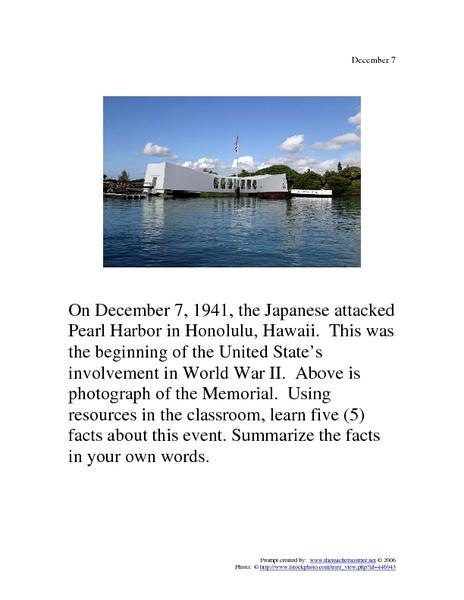 Printables Pearl Harbor Worksheets harbor worksheets davezan pearl davezan