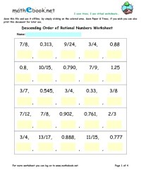 Rational Vs Irrational Numbers Worksheet. Worksheets ...