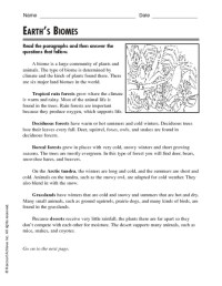 All Worksheets  Biomes Worksheets - Printable Worksheets ...
