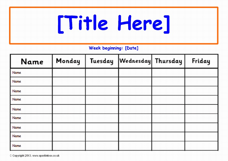 Editable week daily class record chart pre  rd grade also behavior  ile web   hukmedin rh csharpilewebspot