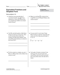 Fractions In Simplest Form Worksheet 5th Grade - fractions ...