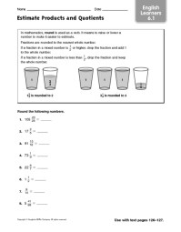 Printables. Estimating Quotients Worksheets. Mywcct ...