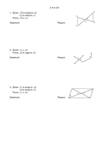 Geometry Circle Proofs Worksheets With Answers